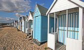 Thorpe Bay Beach Huts - image provided by exfordy under Creative Commons Attribution License (see http://creativecommons.org/licenses/by)